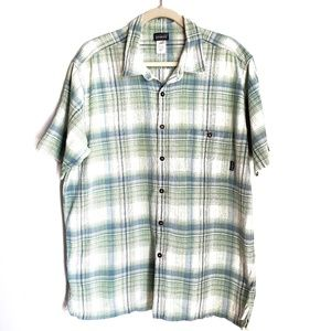 PATAGONIA Organic Cotton Short Sleeve Button Shirt